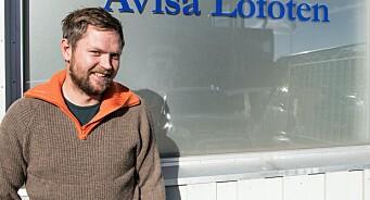 Lars Eidissen (36) gir seg etter et halvt år i Avisa Lofoten - blir strømmesjef i Nordlys