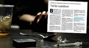 Bergens Tidende feilinformerer om Stortinget og ruspolitikk. Da vi forsøkte å påpeke faktafeilen, mente de kritikken var «litt tørr»