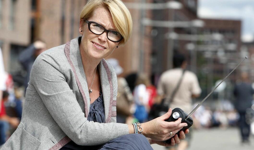 Kommunikasjonssjef Mari Hagerup i Digitalradio Norge.