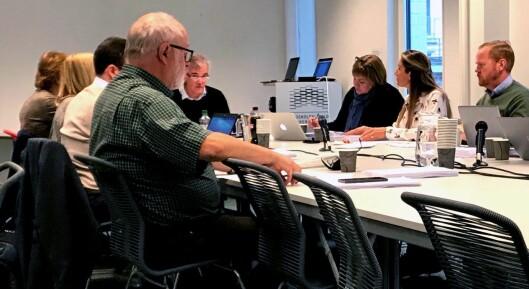 Fra utvalgets møte tirsdag 26. september.