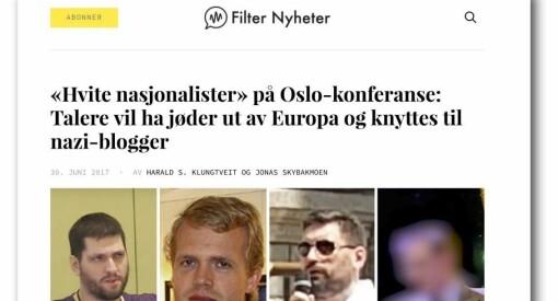 Arrangør mente omtale av nasjonalistkonferanse var usaklig, men PFU frikjenner Filter Nyheter for dekningen