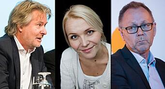 - Dette illustrerer utfordringen i å konkurrere med NRK. Og det er tydelig at politikerne verken forstår eller bryr seg, sier John Arne Markussen