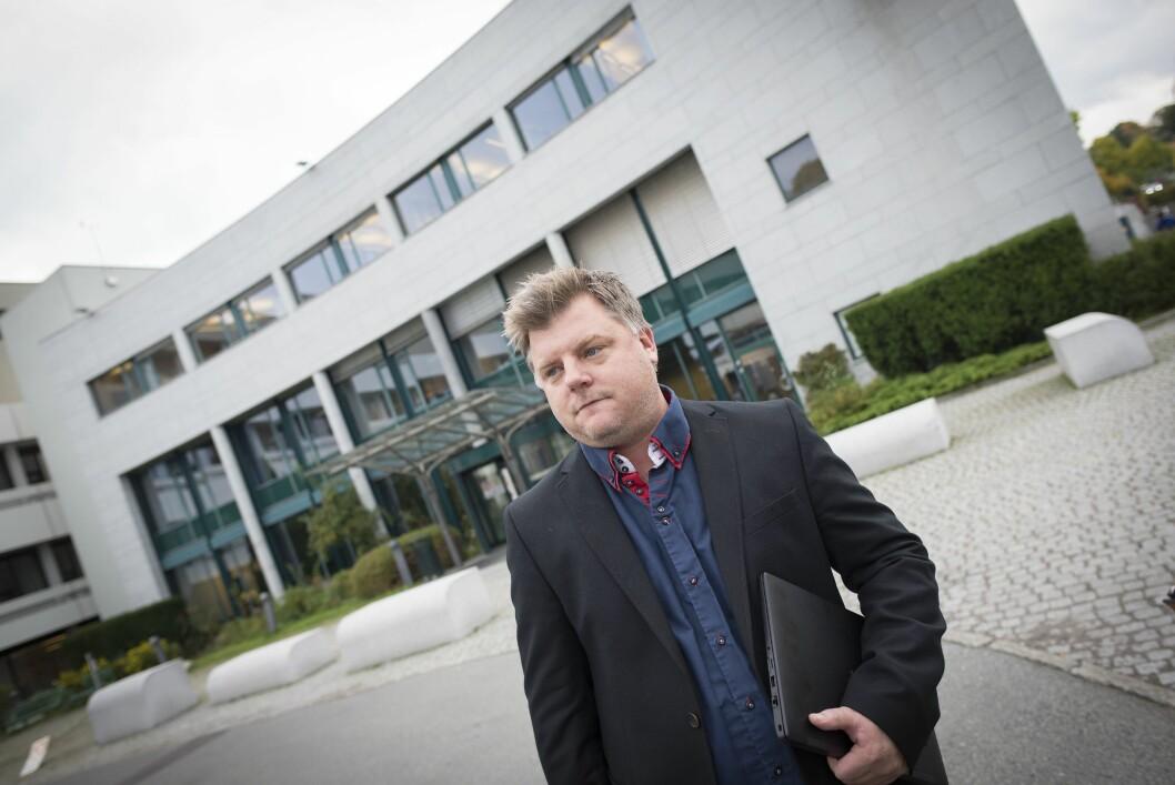 Tillitsvalgt Richard Aune er leder for NRKJ. Mandag varslet han at han ikke tar gjenvalg.