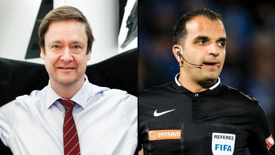 John Christian Elden og Svein-Erik Edvartsen reagerer på TV 2s dekning av NFF-konflikten.