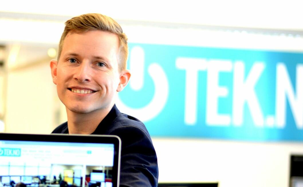 Øystein Høie har jobbet med Tek.no og nettsidens forløpere siden 1999. Nå forlater han mediebransjen for ny jobb i fintech-startup.
