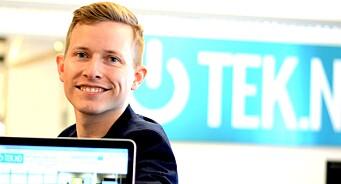Øystein W. Høie (34) har jobbet med nettaviser i 18 år. Nå forlater han mediebransjen for å lansere ny spare-app