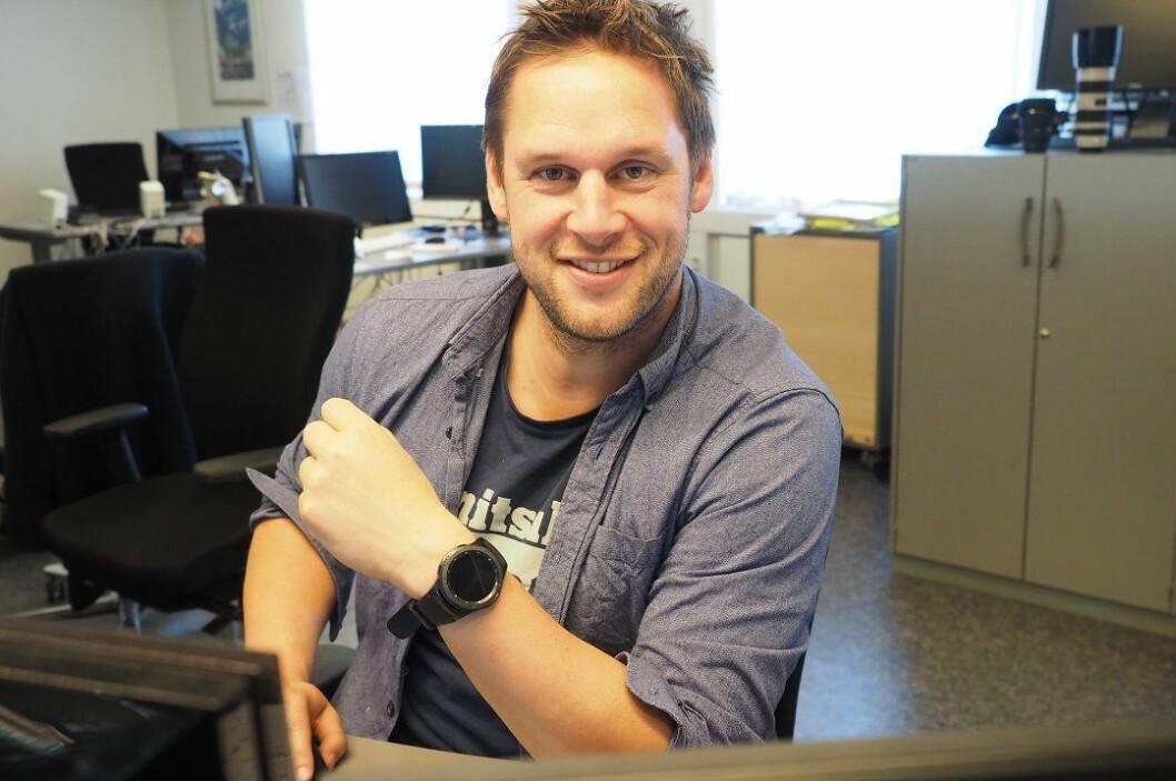 Anders Horne, avtroppende nyhetsredaktør i Fremover.
