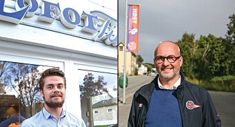 Ny journalist og medierådgiver på plass: Sven-Erik Kristiansen (48) og Ivar Benjamin Østebø (23) til Lofot-Tidende