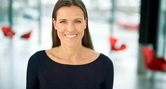 Hun er «Årets foredragsholder»: Markedsdirektør Kathinka Sommerseth i Storebrand får ANFO-pris for datadrevet fagprat