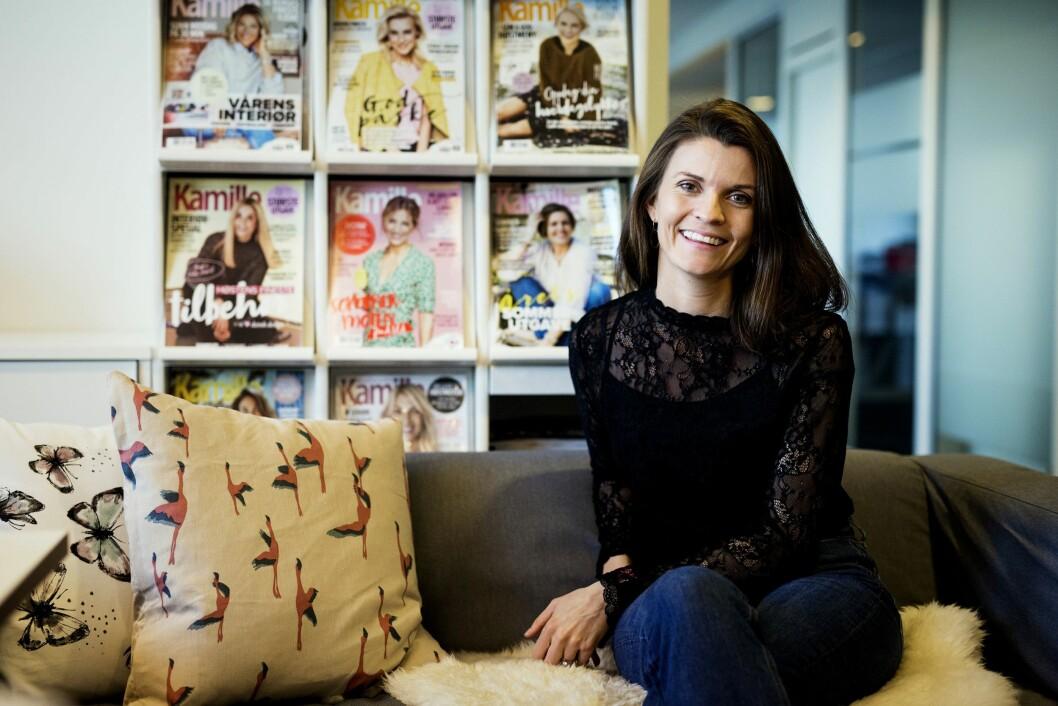 Madeleine Strand har vært nesten hele karrieren i Egmont - og er nå redaktør for både Kamille, Det Nye og flere blader.