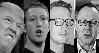 MediaPuls 192: Trump juger. Facebook rydder, VG roter og Dagbladet klager