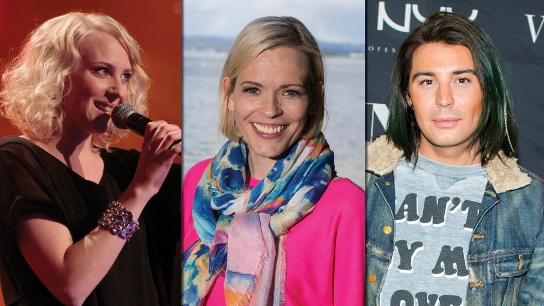 Marthe Valle, Carina Olset og Erlend Elias Bragstad er alle med på å bryte ned tabuer.