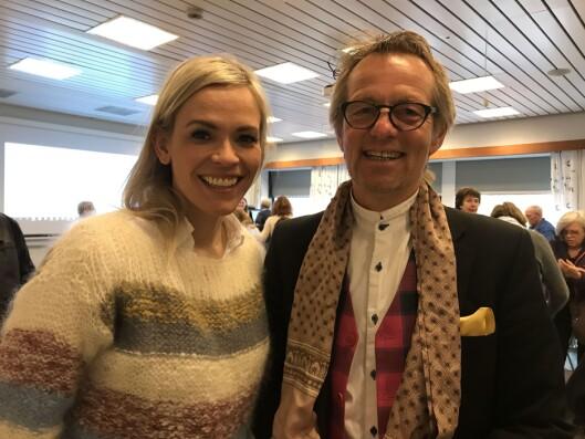 Carina Olset og Bård Borch Michalsen i Harstad denne helga.