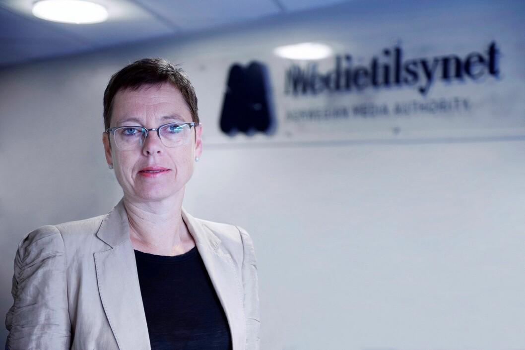 Mari Velsand er direktør i Medietilsynet.