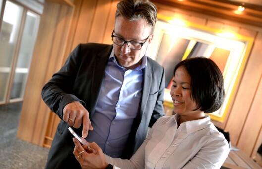 Janice Gundersen og Tom Roger Sokki.