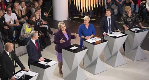 Politikerne ble nærmest usynlige i mediene etter valget: Jakten på oppmerksomhet og presse er byttet ut med spill og korridorpolitikk
