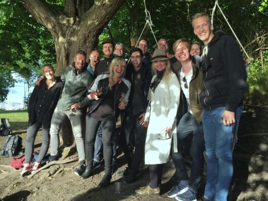 Gjengen fra FlippKlipp.