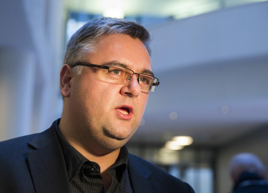 Redaktør Kjetil Stormark i AldriMer.no forteller at det er viktig å være realistisk, men at han ikke skal gi opp enda.