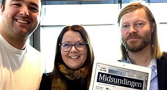 Midsund kommune har 850 husstander. Det var mer enn nok til å starte ny lokalavis