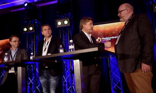 Kenneth Andresen «slo til» i debatten mot NRK.