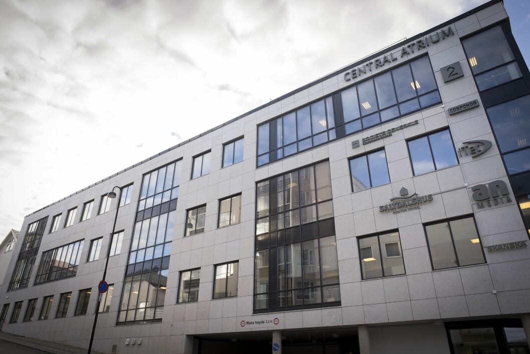 Avisa Nordland sine lokaler i Bodø sentrum