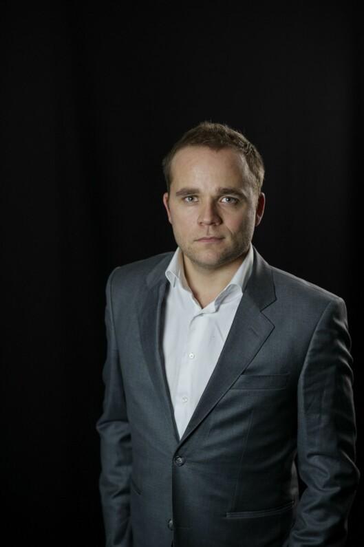 Marius Mørch Larsen, redaksjonssjef.