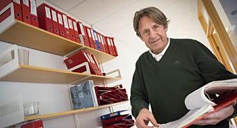 Ingen kamp er for liten for sportsjournalist og kommentator Knut (57) i Oppland Arbeiderblad. Nå nærmer han seg 200 kamper på direkten