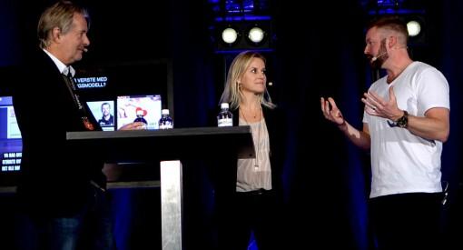 «Fortida møtte framtida» på Mediekonferansen: Se debatt-battle mellom Torry Pedersen og Even Aas-Eng