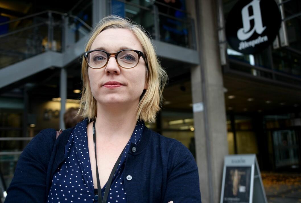 Kulturredaktør Sarah Sørheim i Aftenposten.