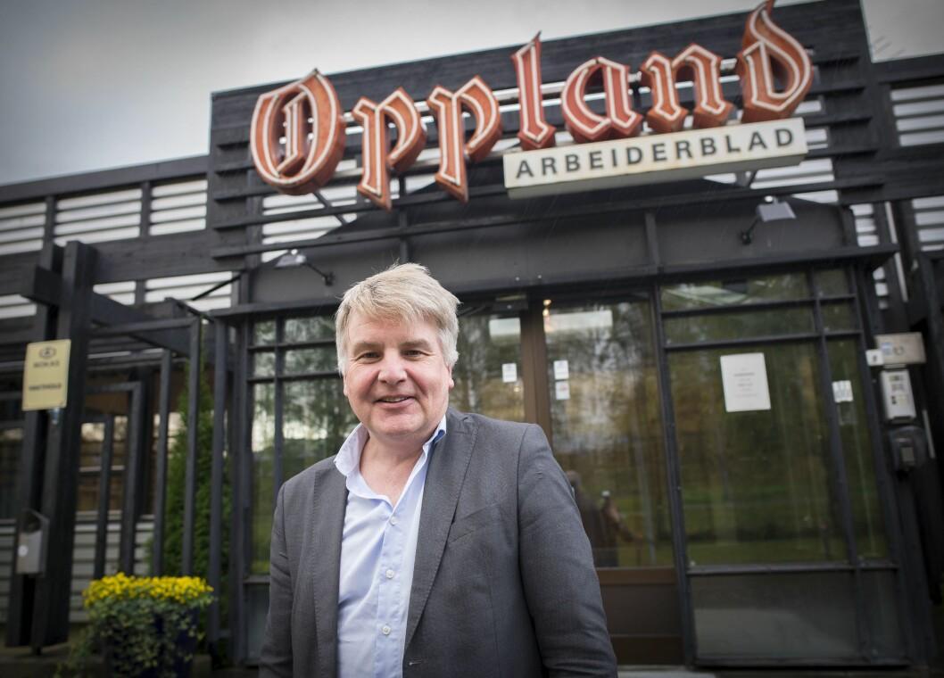 Ansvarlig redaktør i Oppland Arbeiderblad, Erik Sønstelie.