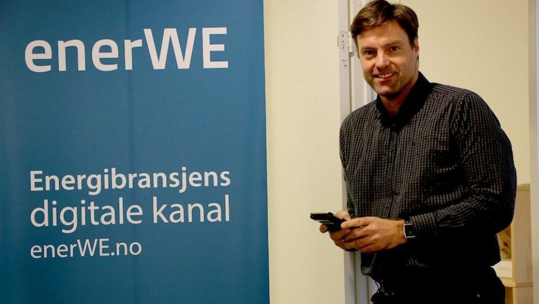 Ansvarlig redaktør Anders Lie Brenna i Enerwe.