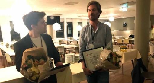 SKUP-grossisten Dagbladet tilbake på sporet: Vant Dataskup-prisen for «Søppelkrisa»