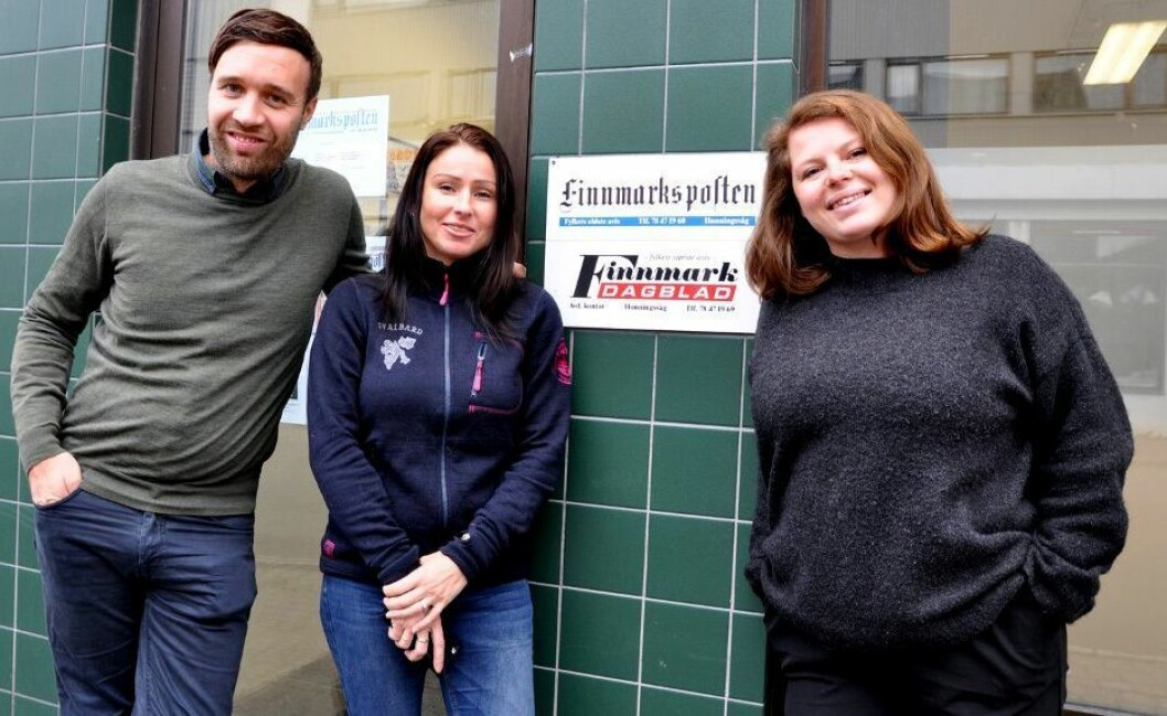 Arne Reginiussen, Randi Iren Olsen og Stine Serigstad.