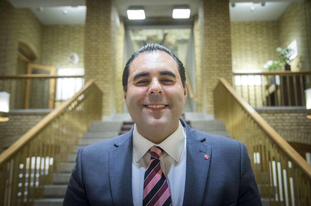 Masud Gharahkhani er mediepolitisk talsmann i Arbeiderpartiet.