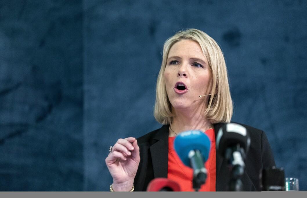 Innvandrings- og integreringsminister Sylvi Listhaug.