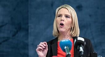 Sylvi Listhaug har rett, men NRK siterte henne feil: Ja, det har kommet 80.000 personer som har fått opphold i Norge