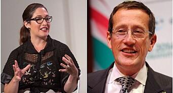 CNN-profilen Richard Quest og Facebooks tidligere talskvinne Randi Zuckerberg kommer til Norge