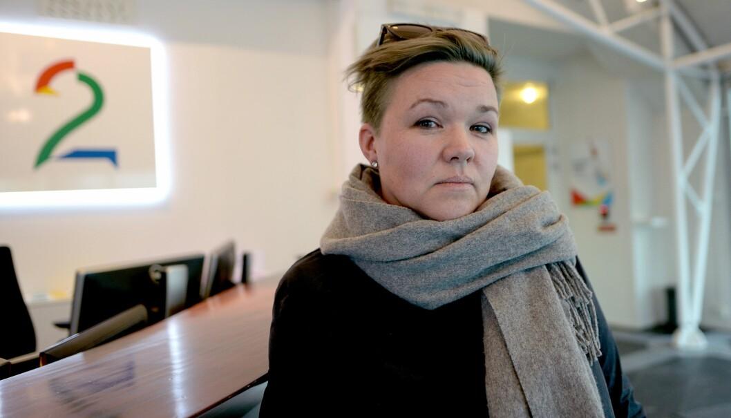 Klubbleder Henrikke Helland i TV 2.