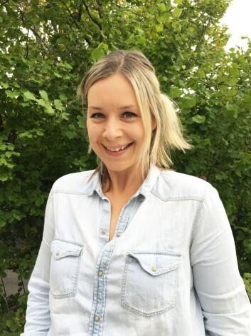 P3-redaktør Camilla Bjørn. Arkivfoto.