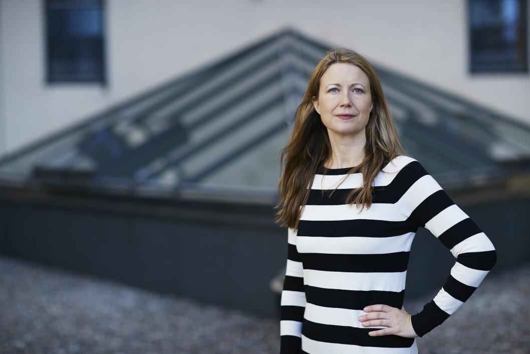 Leder Therese Manus i Kommunikasjonsforeningen.