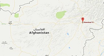 Væpnede menn iført politiuniform stormet tirsdag en privateid TV-stasjon i Afghanistans hovedstad Kabul