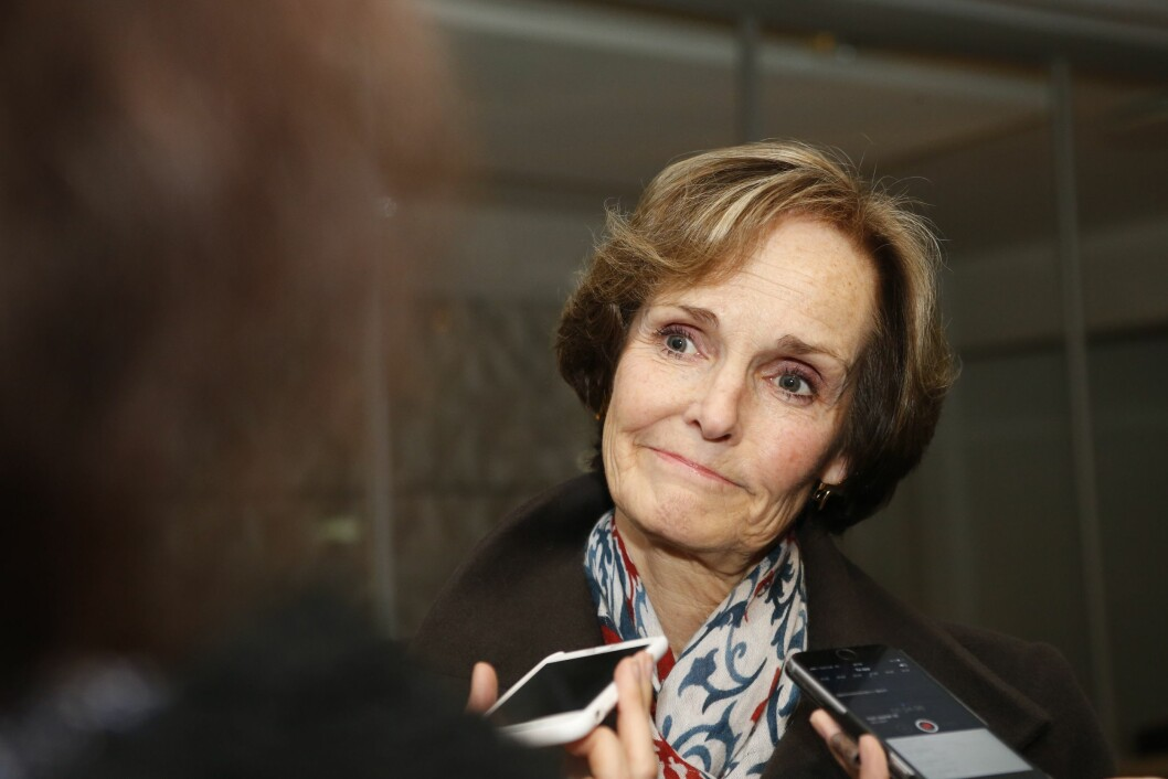 Styreleder i NHST, Anette Olsen.