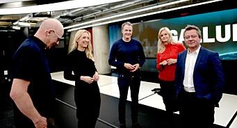 I april var Nyhetskanalen nesten like stor som TV3. Sterke tall for TV 2 og Discovery, svak måned for MTG og NRK