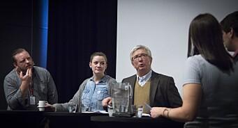 – Det er skandaløst at pressen ikke dekker oljenæringa bedre, mener Schjøtt-Pedersen. Frykter kunnskapsløse journalister