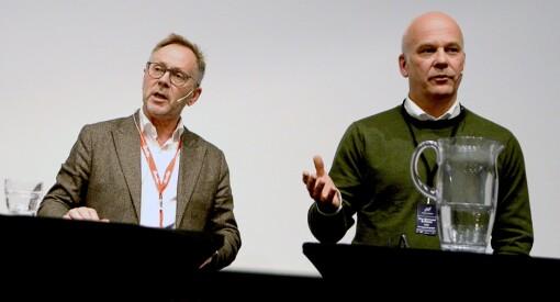 - Før jul så kommer jeg og John Arne Markussen til å være drittlei hverandre, sier Thor Gjermund Eriksen etter nok en debatt om NRK