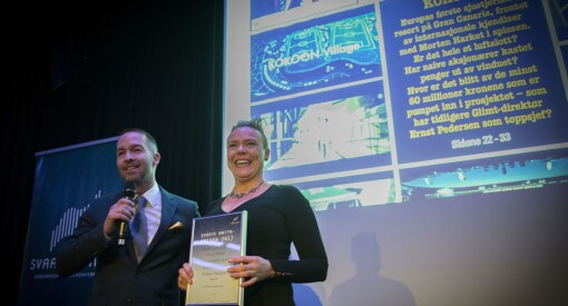 Liten redaksjon tok den største seieren i kveld: Svarte Natta-prisen 2017 til Bodø Nu for «Kokoon-avsløringen»!