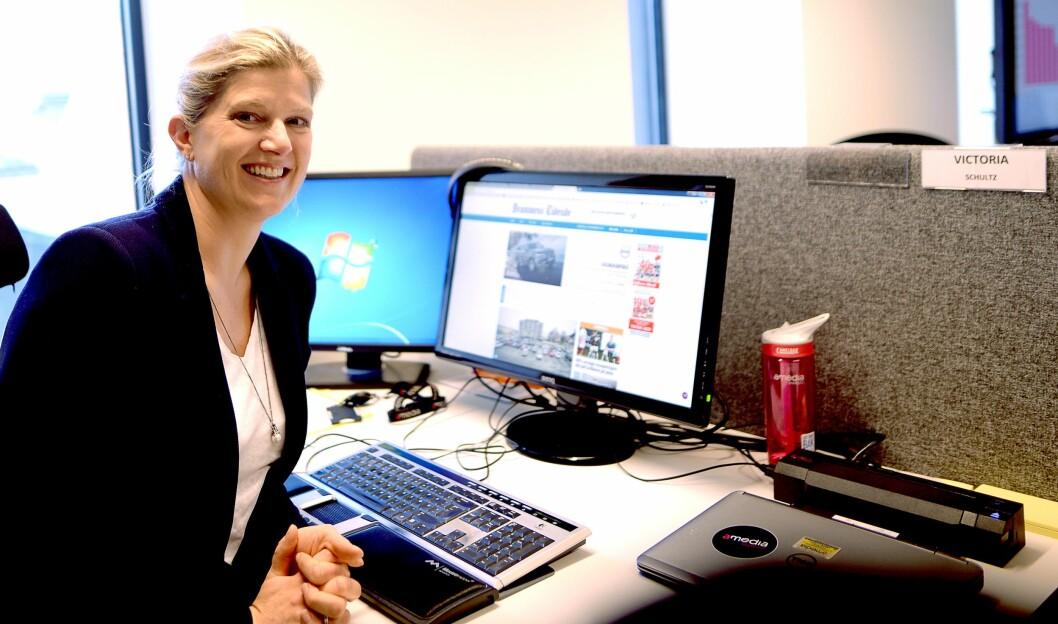 VICTORIA SCHULTZ, konserndirektør for salg og marked i Amedia.