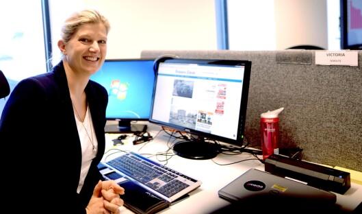 Konserndirektør for salg og marked i Amedia, Victoria Schultz.