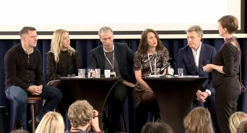 Se hele debatten: Konsernsjefene Ryssdal og Sørsdahl møtte til diskusjon om #MeToo og kvinnelige ledere