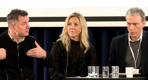 Når blir det flere kvinner i konsernledelsen? Schibsted-sjef Rolv Erik Ryssdal ble utfordret knallhardt av sine egne